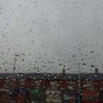 Still raining in Manchester . . .